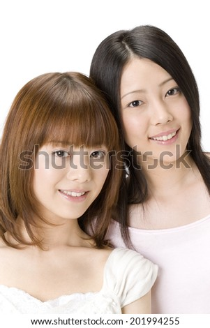 An Image of Two Girls