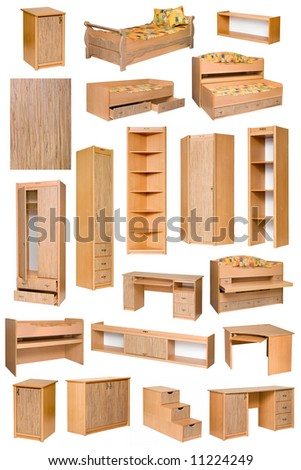 An image of various furniture - stock photo