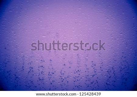 An image of waterdrops on the window - stock photo