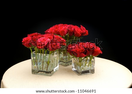 an image of wedding flowers table centre piece