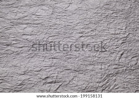 An Image of Wrinkled Paper