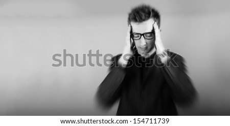 an image of young businessman - stock photo