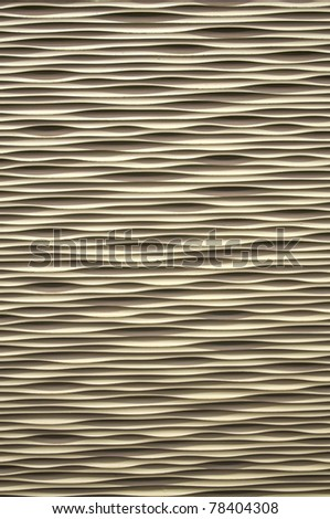 An interesting wavy repeated pattern background. - stock photo