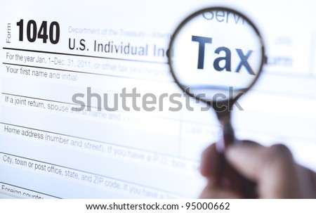 An investigate of tax form 1040