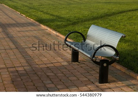 An Irish Bench in Lanesborough