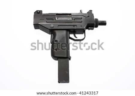 An Israeli automatic firearm.