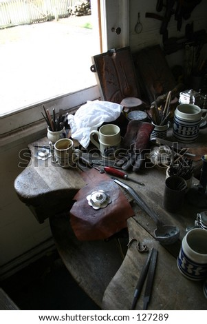 An old Colonial Desk