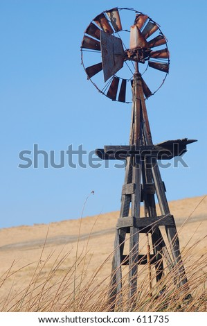 An old dilapidated windmill that caught my eye