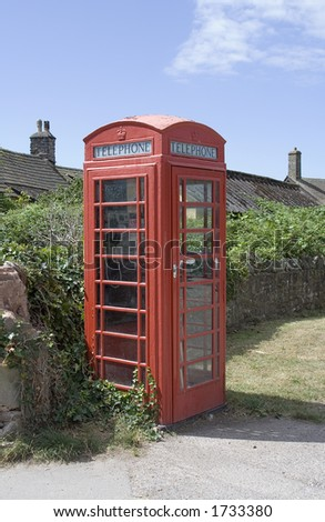 An old English Phone Box