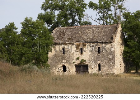An old lonely house  - stock photo