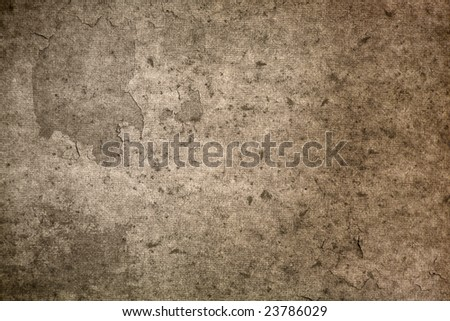 An Old Parchment Paper Texture - stock photo
