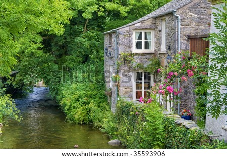 small english cottages cottage stock images royalty free images 14936