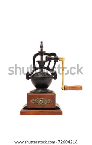 An old style coffee grinder