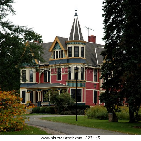 Old Victorian House Stock Photo Royalty Free 627145 Shutterstock