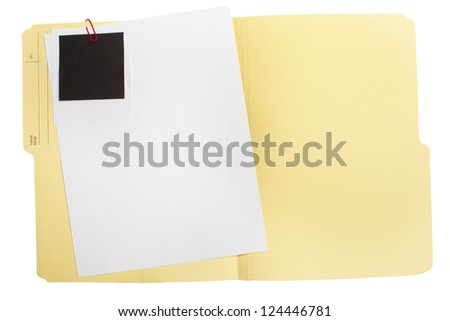 Open File Folder Stock Images, Royalty-Free Images & Vectors ...