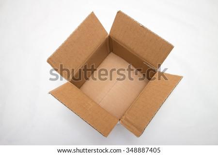 An opening box - stock photo
