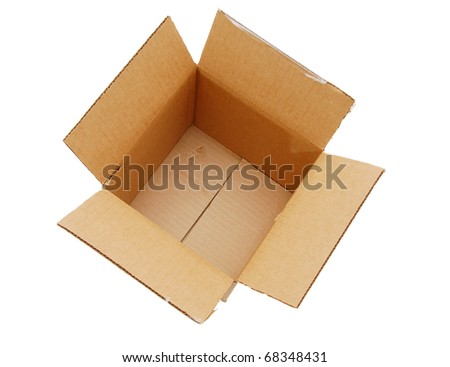 An opening storage box