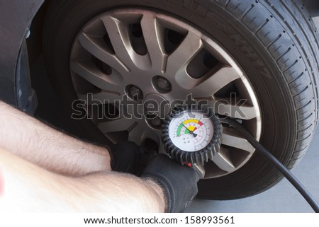 an operator controls the efficiency of a tire
