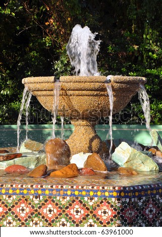 Water fountain Stock Photos, Water fountain Stock Photography ...