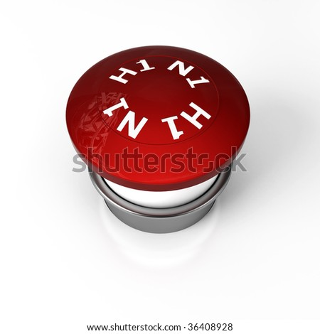an stop warning button of flu H1N1