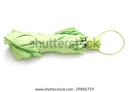 An umbrella isolated on white