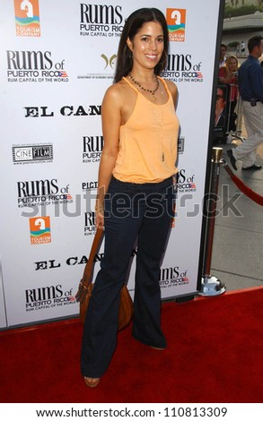 "Ana Ortiz at the Los Angeles Premiere of ""El Cantante"". Director's Guild of America Theatre, Los Angeles, CA. 07-31-07"
