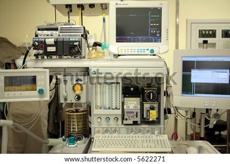 anaesthesia, anesthesia - stock photo
