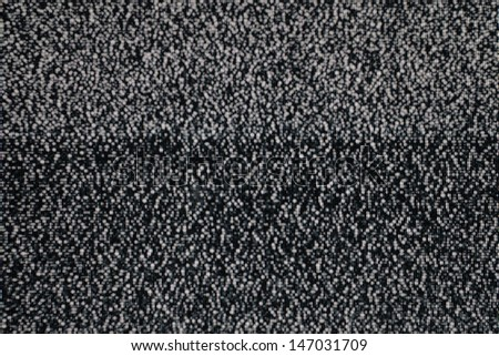 Analog TV CRT kinescope noise. Texture ? desaturated color TV screen - no signal.  - stock photo