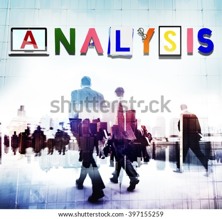 Analysis Analytics Strategy Insight Data Concept - stock photo