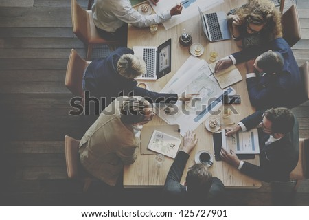 Analysis Business Brainstorming Corporate Smart Concept - stock photo