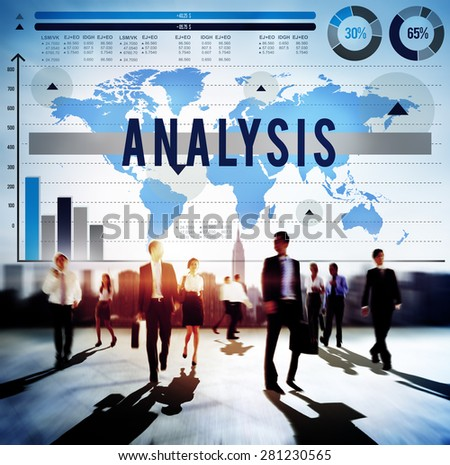 Analysis Planning Strategy Marketing Analytics Concept - stock photo