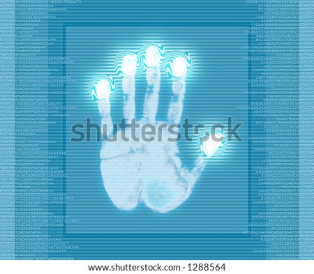 Analysis System. - stock photo