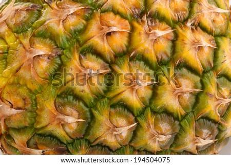 Ananas close-up - stock photo