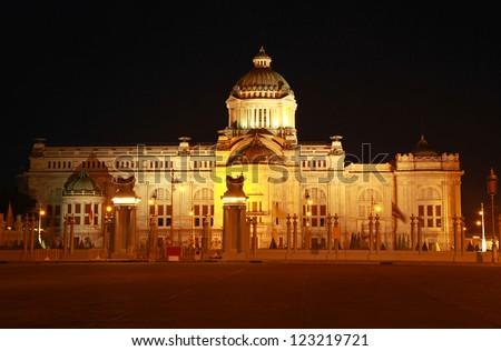 Ananta Samakom Throne Hall in Bangkok, Thailand - stock photo