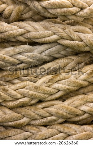 Anchor Rope - stock photo