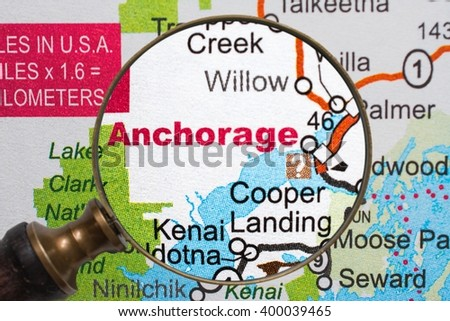 Anchorage - stock photo