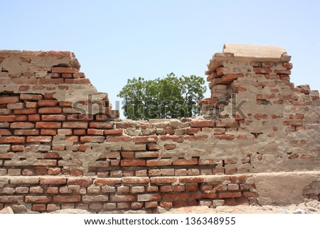 Boundary wall Stock Photos, Illustrations, and Vector Art