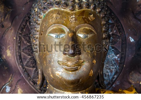 Ancient Buddha in Thailand