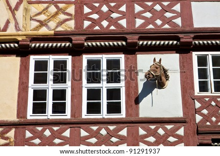 Ancient Building in Wernigerode Germany
