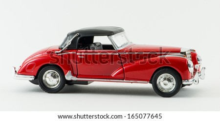 Ancient Car - stock photo