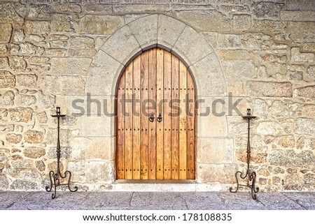 Castle Door Stock Photos Images Amp Pictures Shutterstock