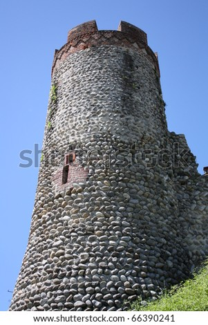 Ancient castle Tower (Candelo, Italy)