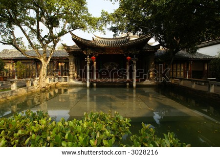 Ancient Chinese Garden