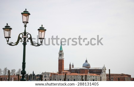 Ancient church in Venice, Italy