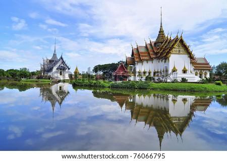 Ancient City, Bangkok, Thailand - stock photo