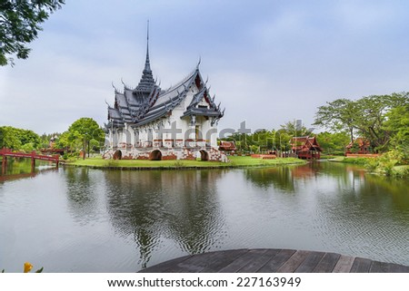 Ancient city in Samut Prakan province, Thailand
