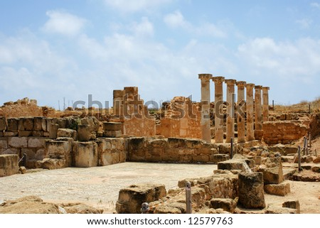 Ancient city near Paphos, Cyprus
