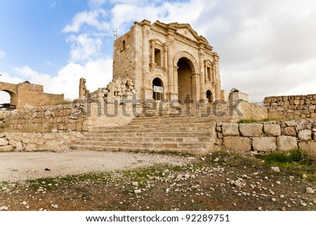 ancient city of jerash, jordan