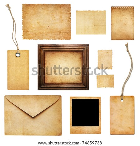 Ancient collection - stock photo