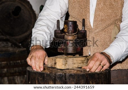 Ancient crafts - stock photo